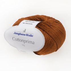 Cottonprima Junghans-Wolle, Rost, aus Baumwolle