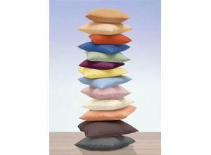 Image of 2er-Pack Kissenbezüge in verschiedenen Farben, Größe 123 (2 Nackenrollenbezüge, 15/40 cm), Qualität Jersey-Stretch, Aqua